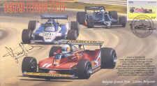 1979 FERRARI LIGIER-COSWORTH TYRRELL-COSWORTH F1 cover signed JODY SCHECKTER