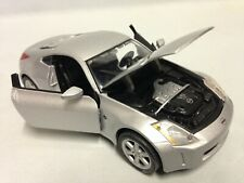 "Nissan 350Z, Collectibles, 7"" Diecast 1:24 Scale, By Maisto Toys Silver"