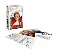 Coup Card Game (Resistance Universe) Secret Identities Deduction Deception Indie