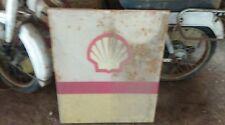 ancienne tôle métal SHELL (pompe à essence) ,vintage,garage,auto,no émaillée