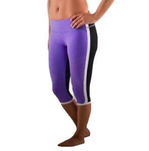 Lululemon Power Purple Ignite Crop Workout Leggings Yoga Run Athletic Women's 8