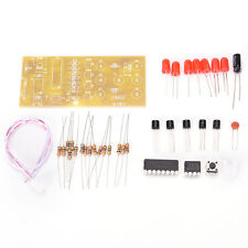 DIY Electronic Dice Kits Suite LED Circuit Kits Stable 4.5-5V Red LED Lights Hot