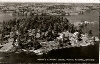 Vintage RP Postcard, Pointe Au Baril, Ontario, Hearts Content Lodge,  pb5