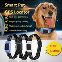 Anti-Lost Pet GPS Tracker IP67 Waterproof Dog Cat Smart Locator Phone Tracking