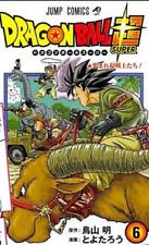 Dragon Ball SUPER Vol. 6  Akira Toriyama  JUMP Comics  Manga Comic Book JAPAN