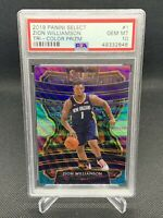 2019 Panini Select Tri Color Zion Williamson PSA 10 🔥🔥🔥