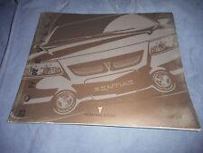 2000 Pontiac Bonneville Full line Color Brochure Prospekt