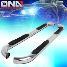 """FOR 1999-2016 FORD SUPER DUTY CREW CAB 3""""STAINLESS STEEL NERF BAR STEP BOARDS"""