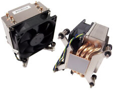 HP 160w Square LGA2011 Heatsink and Fan NEW Bulk 656332-001 IntelHeatsink-Fan