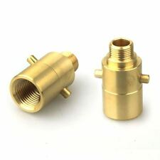 """G 3/8"""" (18 NPT) to UK LPG Nozzle Adaptor for Vapour Tank"""