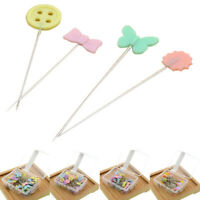 80PCS Quilting Pins Patchwork Needles Flower Sewing Pins DIY Crafts Sewing_TI