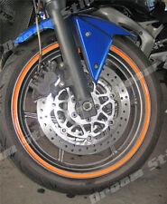 ORANGE MOTORCYCLES CAR  WHEEL RIM TAPES 6MM OR 10MM