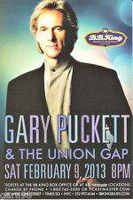 Gary Puckett & The Union Gap Nyc Concert Handbill Mini Poster