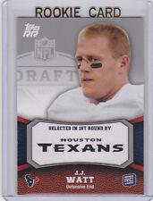 J.J. WATT Houston Texans 2011 Topps ROOKIE CARD Football RC JJ Swatt!