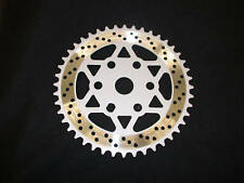 RALEIGH BURNER/OLD SCHOOL BMX OPC CHAINRING 44 TEETH LIGHT ALLOY 120grams SILVER
