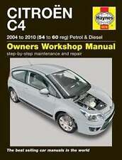 Haynes Manual 5576 CITROEN C4 2004 - 2010 Petrol & Diesel