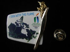 2010 Vancouver Winter Olympic Games Torch Relay  Pin