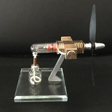 Hot Air Stirling Engine Model Aircraft Model Engine Airplane Propeller Demo Toy