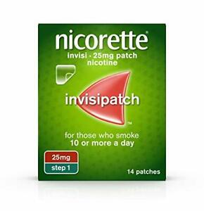 Nicorette Step 1 Patches 25mg x 14 Patches Only £17.49