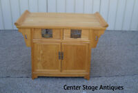 59701 Oriental Server Buffet Bar Cart Cabinet