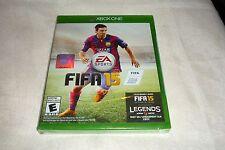 FIFA 15 (Microsoft Xbox One, 2014) BRAND NEW & FACTORY SEALED