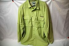 Exofficio Fly Fishing Outdoor Camping Hiking Shirt Long Sleeve SIZE XL Buzz Off