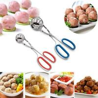 Stainless Steel Stuffed Meatball Clip Non-Stick Maker Mold Kitchen Cooking New