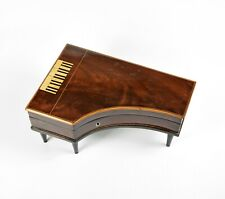 Schöne Biedermeier Dose Holzdose in Klavier Form early wooden box in piano form