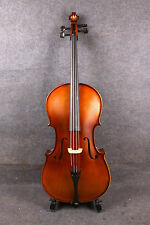 Yinfente 1/2 Cello Half Size Maple Spruce Wood Hand Made Cello Bag Bow