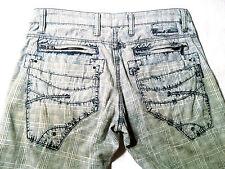 EUC - RRP $279 - Mens PREMIUM CIPO & BAXX  'ART:C-736' Pants Jeans Size 34