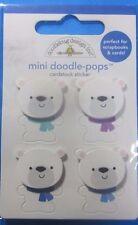 Doodlebug Design Inc. Polar Bear Stickers