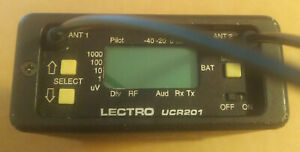 Lectrosonics UCR 201 wireless microphone receiver