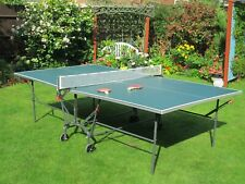 New listing Indoor Kettler Table Tennis. 9 x 5 feet, folding, fold-up practice. Net and Bats