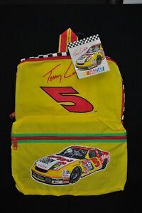 Vintage 1997 NASCAR Terry Labonte Kellogg's Corn Flakes #5 Vinyl Backpack