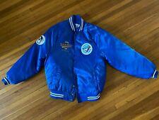 Vintage Toronto Blue Jays 1992 World Series MLB Satin Bomber Jacket Medium