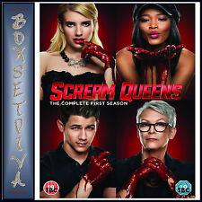 Scream Queens Season 1 DVD Lea Michel Emma Roberts Region 2