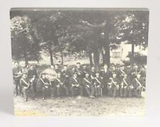 Mounted Photograph COOPERSTOWN NEW YORK MILITARY BAND Militaria Vint... Lot 8013