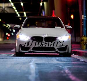 BMW F30 F31 3-Series Canbus LED Headlights 2x Bulbs H7 Low Beam 90W 6500K White