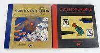 Griffin & Sabine Lot of 2 Nick Bantock Griffin & Sabine Sabine's Notebook