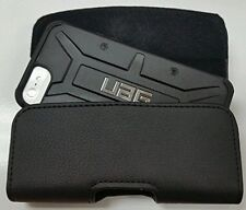 Motorola Moto E5 Play XL BELT CLIP LEATHER HOLSTER FITS A UAG HYBRID CASE ON
