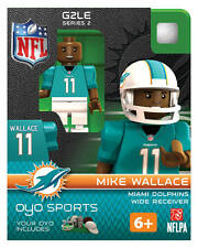 MIKE WALLACE MIAMI DOLPHINS G2LE OYO MINIFIGURE LEGO NEW FREE SHIPPING