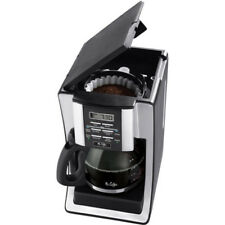 Mr. Coffee Programmable Coffee Maker, 12-Cup, Black