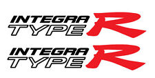 "Integra Type R sticker vinyl decal, car window, doors, size 9"" x 1.6"" set of 2"