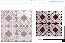 Tempaper Designs Self-Adhesive Temporary Wallpaper DI153 Diamond Chocolate 3.5ft