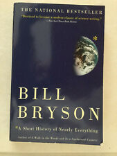 A Short History of Nearly Everything by Bill Bryson, Paperbook