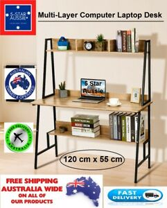 Computer Laptop Desk Douxlife® Multi-Shelf 15mm THK 120CM Wide for Home & Office