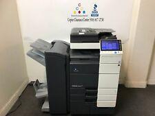 Konica Minolta Bizhub C654e Color Copier Printer Scanner Booklet Fiery Low 222k