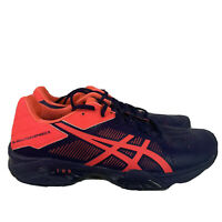 Asics Womens sz 7.5 Blue Pink Sneakers Gel Solution Speed 3 E650N