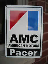 AMC Pacer 72 American Motors Racing Sign Service Mechanic AMX Garage SIGN