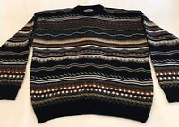 Vintage Men's Sz XL  S. Wm. Casuals Coogi Style Cosby Style 100% Acrylic Sweater